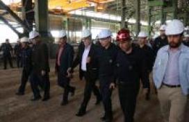 بازدید معاون محترم وزیر صنعت معدن وتجارت از مجتمع بردسیر