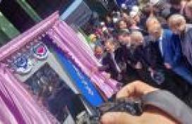 افتتاح رسمی کارخانه فولاد سازی بردسیر